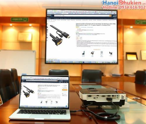 Cáp chuyển đổi HDMI sang VGA 2M Ugreen 40231 dây dẹt
