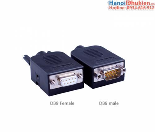 Đầu bấm COM DB9 Male HD-Link