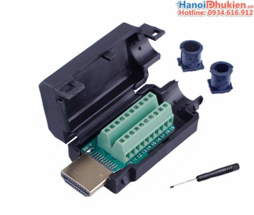 Đầu bấm cáp HDMI 1.4, 2.0 Male