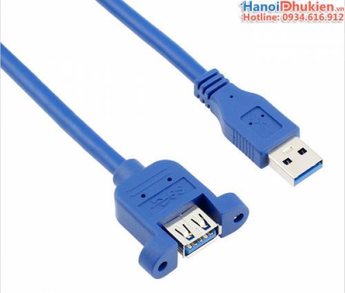 Cáp nối dài USB 3.0 đầu bắt vít 0.6M