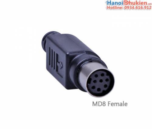 Đầu hàn MD8 Female cho máy lập trình PLC