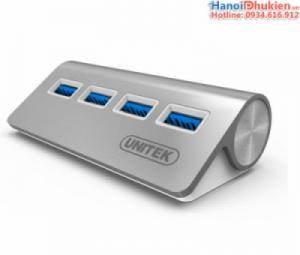 Bộ chia USB 3.0-4 cổng Unitek Y-3186 cao cấp