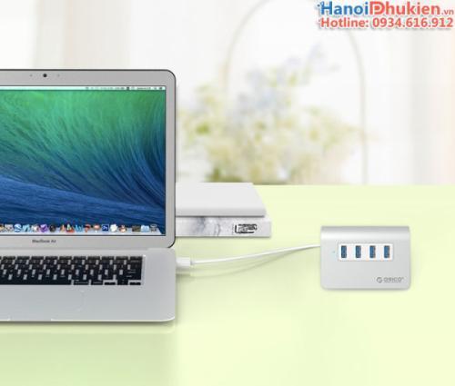Bộ chia USB 3.0-4 cổng Orico M3H4 cao cấp