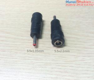 Đầu giắc chuyển nguồn 3.5x1.35mm chân nhỏ (kim)