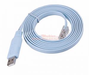 Cáp Console USB sang RJ45 lập trình server, switch, hub Cisco dài 1.8M