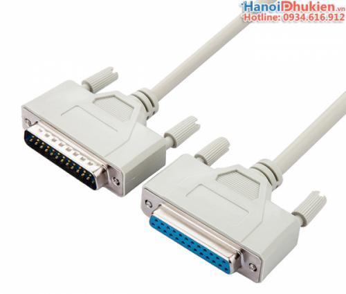Cáp DB25M to DB25F Male to Female nối thẳng 3M đầu đúc sẵn