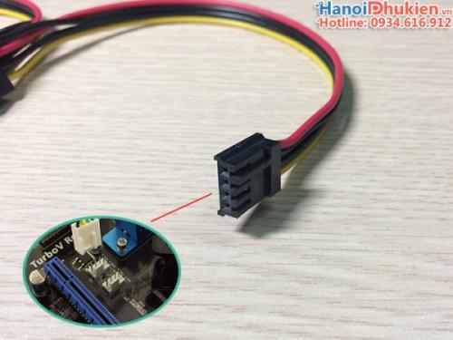 Cáp nối nguồn 4Pin Mainboard ra 2 SATA cho HDD, SSD