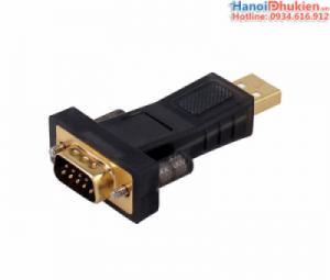 Đầu chuyển USB sang RS232 (DB9) hỗ trợ Win 8, 10 Chip PL2303RA Dtech DT-5001A