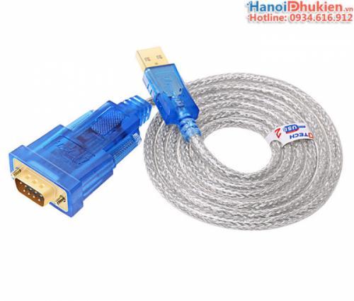 Cáp USB sang RS232 dài 1.2M (USB sang COM) chip FTDI Dtech DT-5011