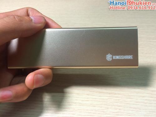 Hộp đựng ổ cứng SSD M2 NGFF 2280 chân cắm Type-C Kingshare C9