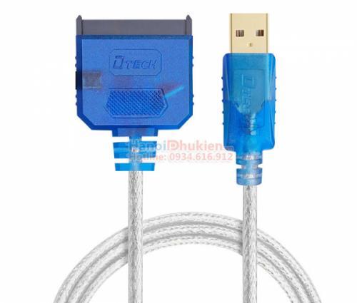 Cáp kết nối ổ cứng HDD, SSD, DVD sang USB 2.0 Dtech DT-5025