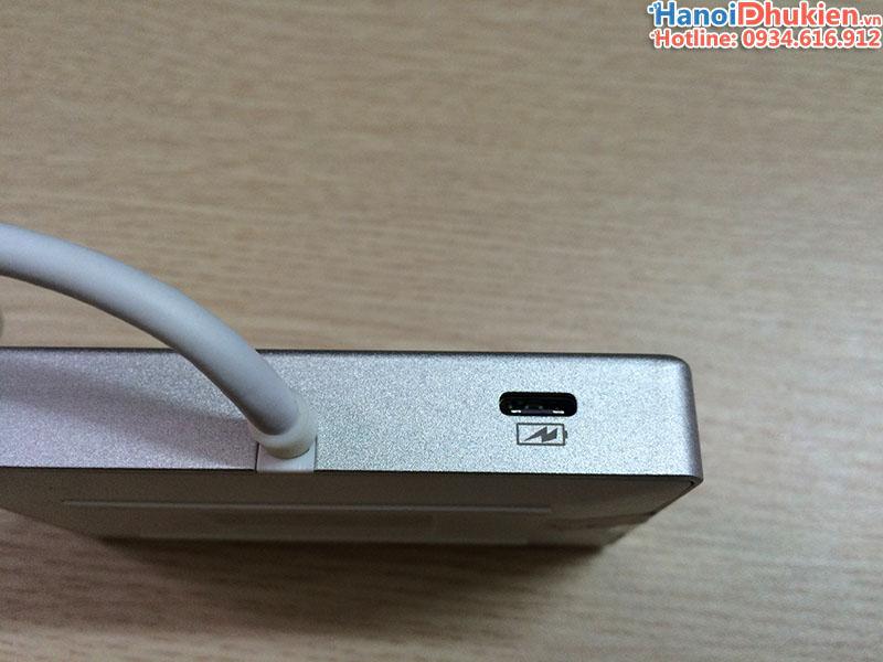 Đầu đọc thẻ SD, TF Type C, chia USB 2 cổng, có hỗ trợ sạc Unitek Y-9319