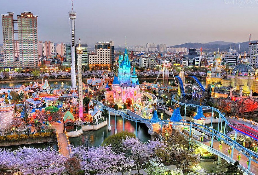 SEOUL – EVERLAND- NAMI- CÔNG VIÊN YEOUIDO